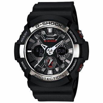 Harga Casio G-shock ������������������������������������ Standard Ana-Digital ������������ GA-200-1A ( Black )