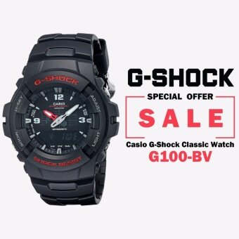 Casio G100-BV Men's G-Shock Classic Analog-Digital Watch - intl