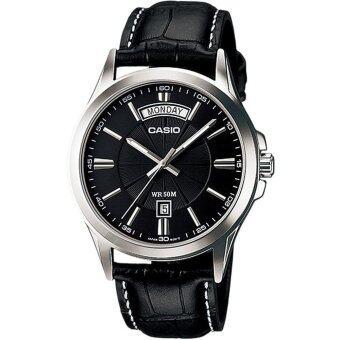 CASIO นาฬิกา Gent quartz MTP-1381L-1AVDF