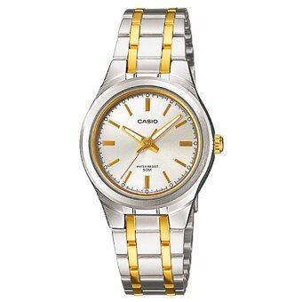 Casio นาฬิกาข้อมือผู้หญิง สายสแตนเลส สีเงิน รุ่น LTP-1310SG-7A ( Silver )