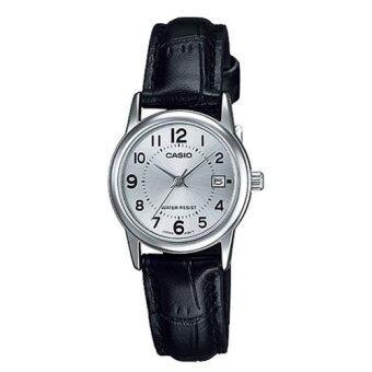 Casio นาฬิกาข้อมือ ผู้หญิง สายหนัง รุ่น LTP-V002L-7BUDF