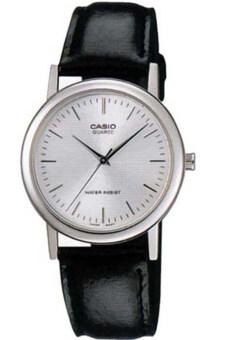 Casio นาฬิกาข้อมือ รุ่น MTP-1095E-7ADF-Silver/Black
