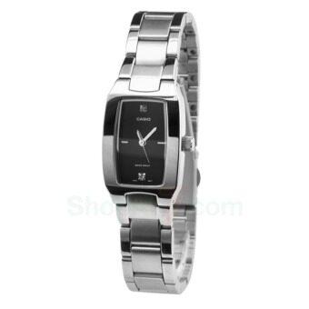 Casio Standard Analog รุ่น LTP-1165A-1C2DF นาฬิกาผู้หญิง สายแสตนเลส สีเงิน