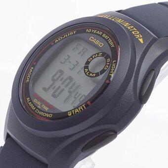 Casio Standard นาฬิกาข้อมือแท้ รุ่น F200W (Blue)