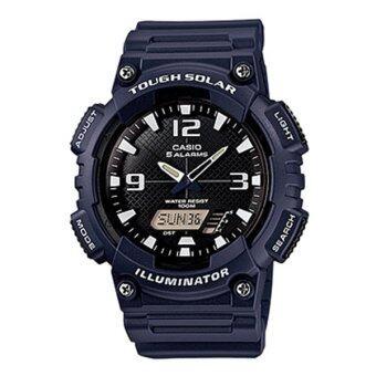 ซื้อ/ขาย Casio standard Solar Powered นาฬิกาข้อมือผู้ชาย สีกรม สายเรซิ่น รุ่น AQ-S810W-2A2