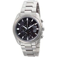 Citizen นาฬิกาผู้ชาย สายสแตนเลส รุ่น CA0021-53E - Silver