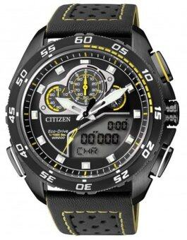 Citizen Eco-Drive Promaster World Time Sapphire Chronograph Racing Watch