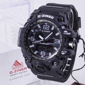 D-ZINER นาฬิกาทรงสปอร์ต รุ่น DZ8119