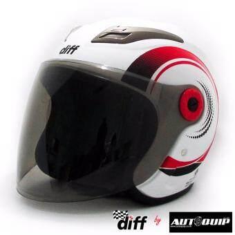 ต้องการขาย Diff หมวกกันน็อคเต็มใบ รุ่น Diff 3 สีขาว ไซด์ L
