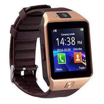 DZ09 Smart Watch Bluetooth Touch Screen for Android and iOS(gold) -intl