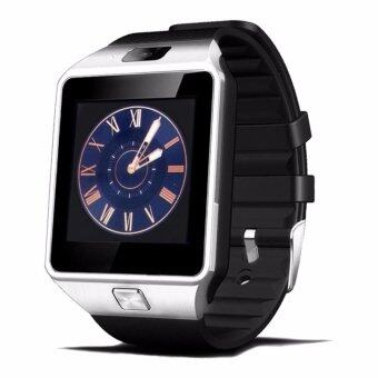 DZ09 Smart Watch Bluetooth Touch Screen for Android and iOS(silverblack) - intl