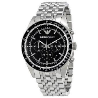 Emporio Armani Men's AR5988 Sportivo Analog Display Analog QuartzSilver Watch