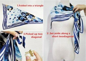 Lalang Chiffon Shawls Scarf Pearl Button Floral Print Sunscreen Source How To Buy .