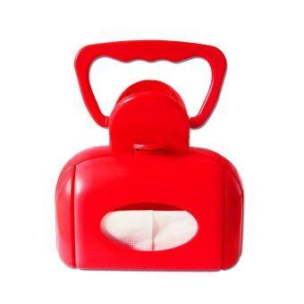 Finger ที่เก็บอึหมา แมว หรือเก็บสิ่งปฏิกูล Pet Poop Scooper ( สีแดง) (image 1)