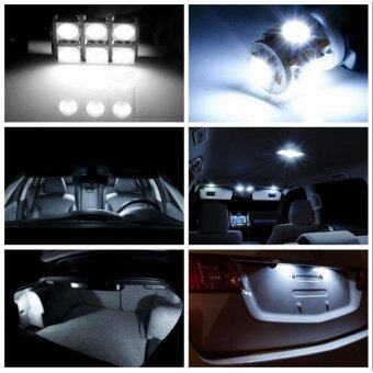 For Chevrolet Captiva Convenience Bulbs Car Led Interior Light C10WW5W Replacement Bulbs Dome Map Lamp Light Bright White 4 PCS PerSet - intl รูบที่ 2