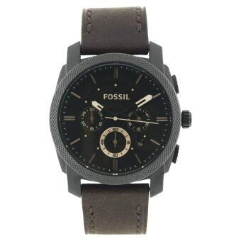 Fossil Machine Brown Watch Leather Strap FS4656 - Brown