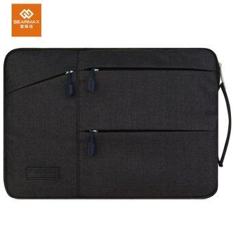 GEARMAX Laptop Sleeve Bag for Macbook air pro retina 13.3 inch Protective Case Handbag Briefcase(Black) - intl