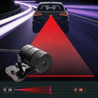 Gion - Car Laser Tail Warning Light ไฟเลเซอร์ติดท้ายรถ (Black)