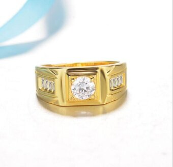 GM Men's gold ring - intl