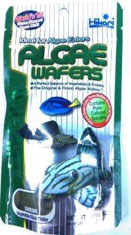 Hikari Algae Wafers อาหารสำหรับกลุ่มปลาแคทฟิช/ปลาทะเลบางชนิด 82 g
