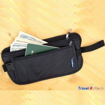 กระเป๋าคาดเอวซ่อนเงิน ( Black )