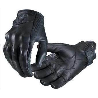 ถุงมือขี่มอเตอร์ไซค์หนังแท้ icon Gloves size L