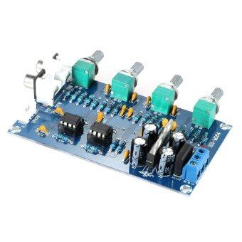 Harga NE5532 Stereo Pre-amp Preamplifier Tone Amplifier Board Audio 4 Channels - intl