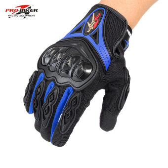 Harga Pro-biker Motorcycle Cycling Racing Riding Full Finger Gloves M L XL - intl
