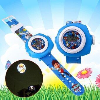 Harga TV Character PAW PATROL Kids Children Baby Figures Led Projection Cartoon Watch - intl