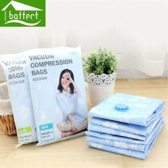 Harga BAFFECT 110*100cm Quilt Clothing Storage Bag Compressed Space Seal Saver Vacuum Compression Bags - Intl