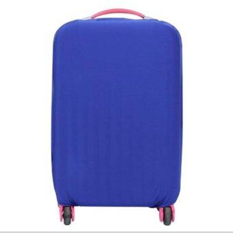 Harga Travel Luggage Suitcase Protective Cover Thick Elasticity Box Sets Suitcase Dust Covers 26-30inch - intl