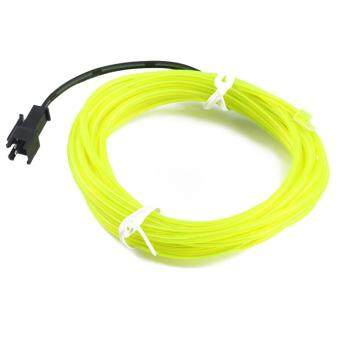 Harga Beau 3M Colorful Flexible EL Wire Tube Rope Neon Light Glow Car Party Decor Green - intl