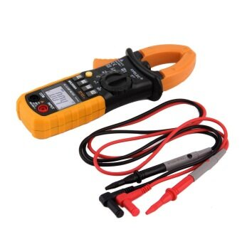 Harga CHEER Digital Clamp Meter DC AC Volt AC Amp Ohm Tester MS2008A 2000 Counts LCD