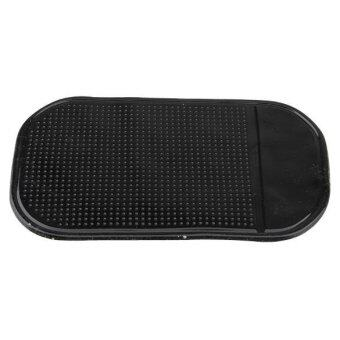 Harga Black Car Anti/Non-Slip Glass Dash Mat Pad For iPhone 4G 4S iPod Brand New