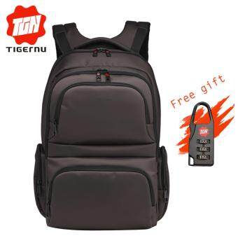 Harga Tigernu Anti-theft Waterproof Nylon Business Travel Backpack for 12.1-15.6 Inches Laptop(Coffee)