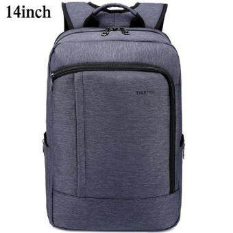 Harga Tigernu Anti-theft Waterproof Nylon College School Travel Business Backpack for 12.1-14 Inches Laptop3174(navy blue) - intl