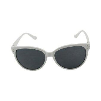 Harga YBC Fashion Women Sunglasses Acetate Cat Sunglasses White - intl