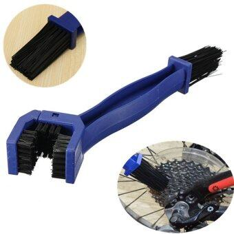 Harga Moonar Bicycle Motorcycle Mountain Bkie Chain Cleaning Washing Tool Double-End Chain Crankset Brush (Blue)