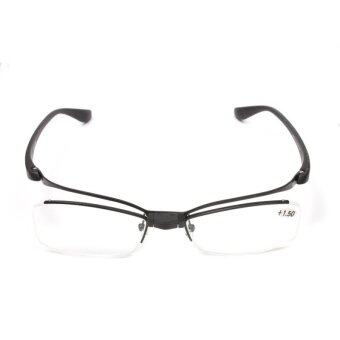 Harga 2016 Flip-up tr90 Reading glasses Makeup Readers Glasses +1.5