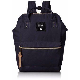 Harga 【Ship from Japan】 anello [Official] poly canvas mouthpiece mini rucksmall small size navy - intl