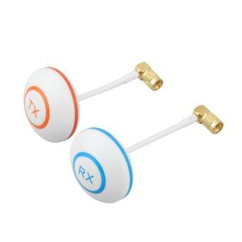 Harga 5.8GHz Circular Polarized Mushroom Antenna SMA Set Tx/Rx for FPV Aerial RC