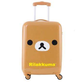 Harga Rilakkuma : Rilakkuma Collection Luggage Model R57007 - Brown