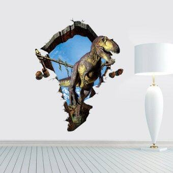 Harga Fancytoy 3D Dinosaur Wall Sticker Vinyl Stickers Wallpaper Kids Bedroom Decal Decor A1 - intl