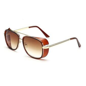 Harga Iron Man 3 Actor Tony Matsuda Men Sunglasses Red