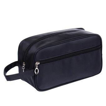 Harga Bang Portable Waterproof Big Capacity Travel Toiletry Bag Wash Shavingbag Makeup Grooming Toilet Bag Dark Blue - intl