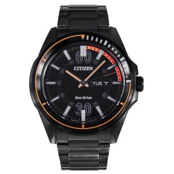 Harga Citizen Eco-Drive Men's AW0035-51E Drive from Citizen HTM Analog Display Black Watch - intl