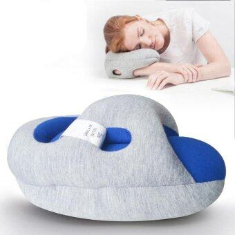 Harga Nap Pillow Office Lying on The Sleeping Pillow Aircraft Travel Particles Ostrich Pillow Student Nap Pillow - intl
