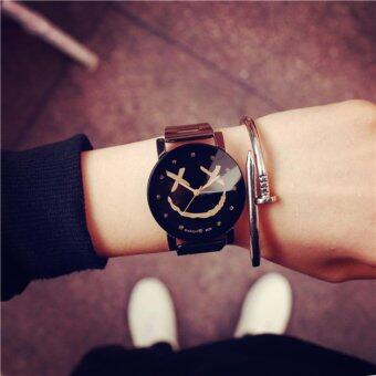 Harga Ccjeans smile watch White - Black นาฬิกาข้อมือ