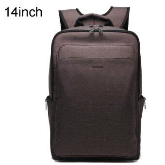 Harga Tigernu Waterproof Anti-theft Business Casual 14 Inches Laptop Backpack For 12.1-14 Inches Laptop(Coffee) - intl