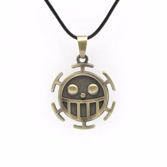 Harga One Piece Necklace Surgeons Trafalgar Law Necklace Women Men's Accessories Anime Jewellery Accessories - intl